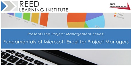 Fundamentals of Excel for Project Managers tickets