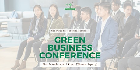 Green Business Conference '21 tickets