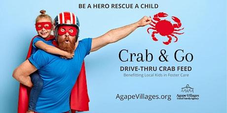"Agape Villages ""Crab & Go"" Drive-thru Crab Feed tickets"