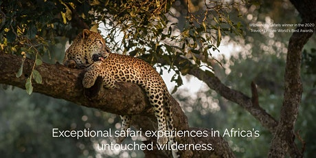 Travel Talk Exceptional Safari Experiences In Africa's Untouched Wilderness tickets