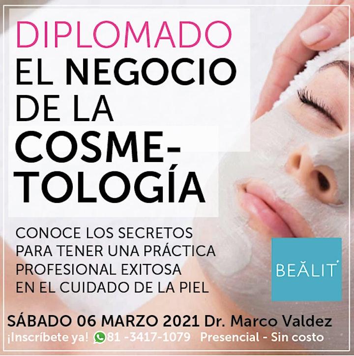EL NEGOCIO DE LA COSMETOLOGIA / 3 sesión image