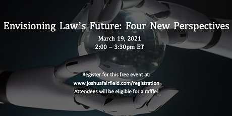 Envisioning Law's Future: Four New Perspectives tickets