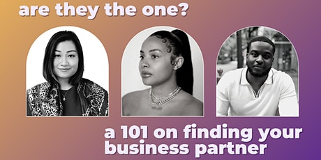 Are they the one? A 101 on finding your creative business partner Tickets