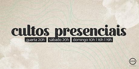 Culto Domingo Tarde 28/02 16h ingressos