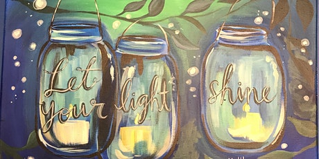 Let Your Light Shine Sip & Paint Party tickets