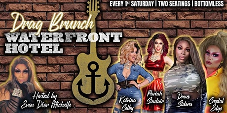 Evon Dior Michelle's Drag Brunch At Waterfront Hotel Bar tickets