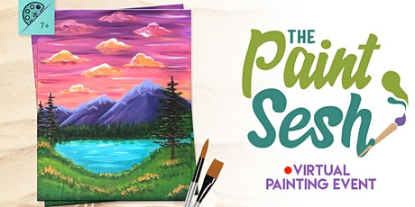 "Virtual Paint Night at Home: ""Wanderlust"" - (Online Painting Class) tickets"