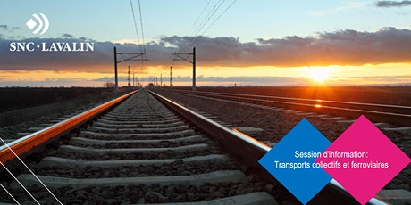 Session d'information: carrière en transports collectifs et ferroviaires tickets