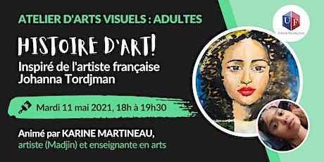 Histoire d'art! - Atelier d'arts visuels tickets