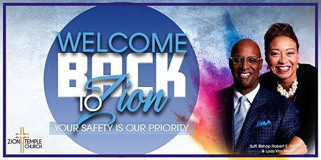Welcome Back Service at Zion Temple Church tickets