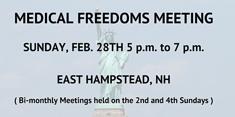 MEDICAL FREEDOMS MEETING tickets