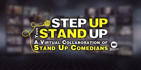 Step Up Your Stand Up | Virtual Networking Event For Stand Up Comedians tickets