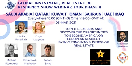 Global Investment, Real Estate & Residency Show II   Middle East tickets