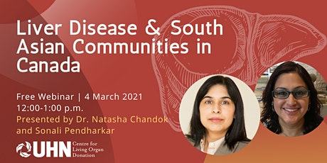 Liver Disease & South Asian Canadians tickets