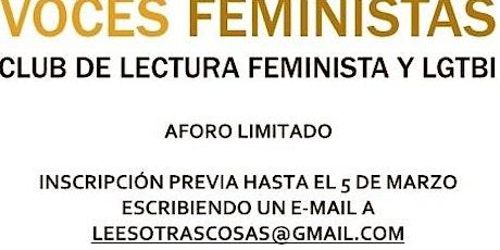 Voces feministas 2021 entradas
