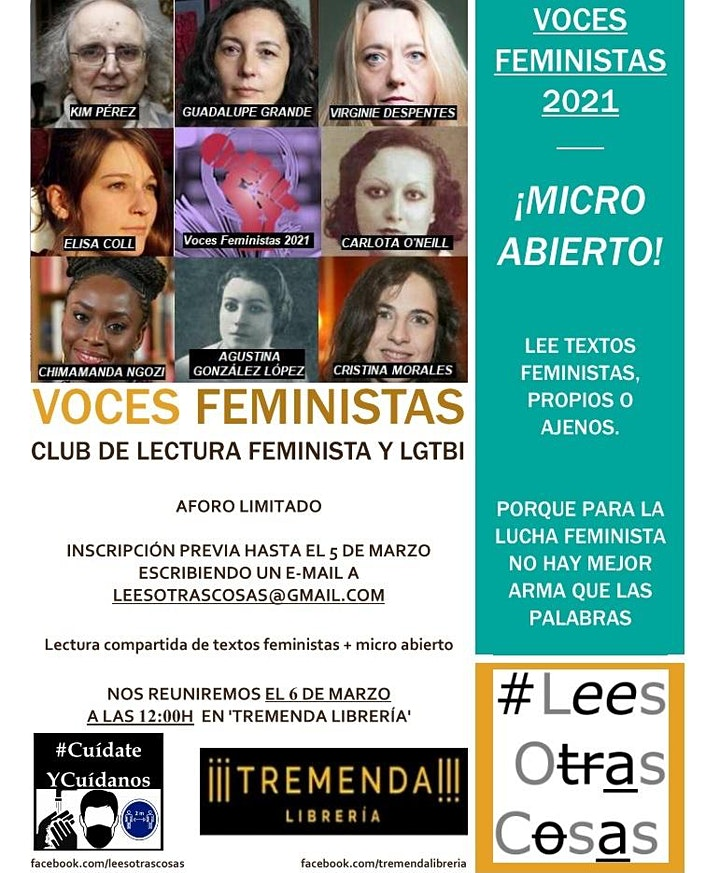 Imagen de Voces feministas 2021