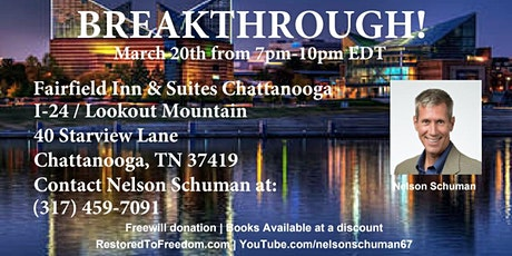 Breakthrough in Chattanooga, TN tickets