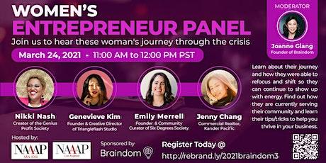 Women's Entrepreneur Panel tickets