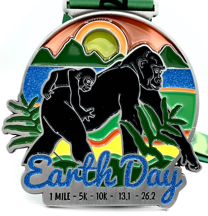 Earth Day 1M 5K 10K 13.1 26.2 - Participate from Home image