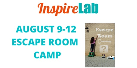 SUMMER 2021: ESCAPE ROOM CAMP tickets