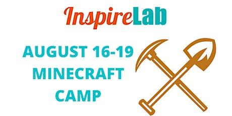 SUMMER 2021: MINECRAFT CAMP tickets