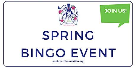One Breath Foundation Spring Bingo Fundraiser Event tickets