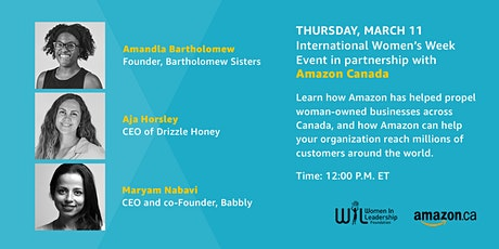 International Women's Week Event in partnership with Amazon Canada tickets