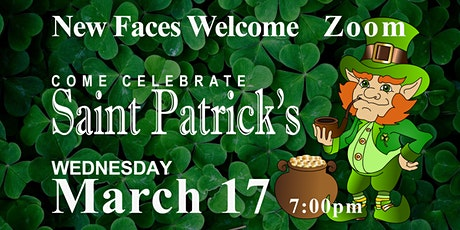 Saint Patrick's Celebration ~ Zoom tickets