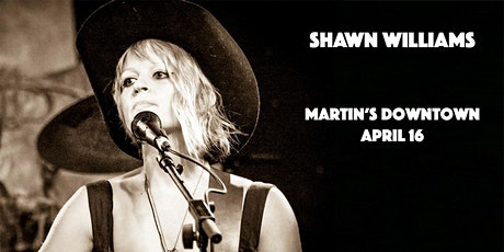 Shawn Williams at Martin's Downtown tickets