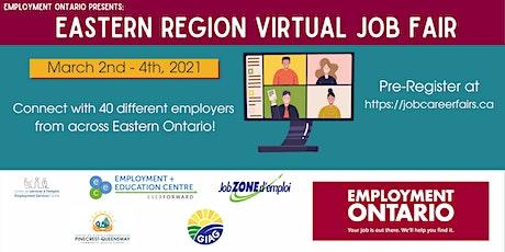 Eastern Region Virtual Job Fair tickets
