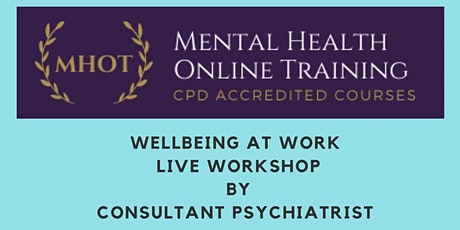Wellbeing at Work Workshop tickets
