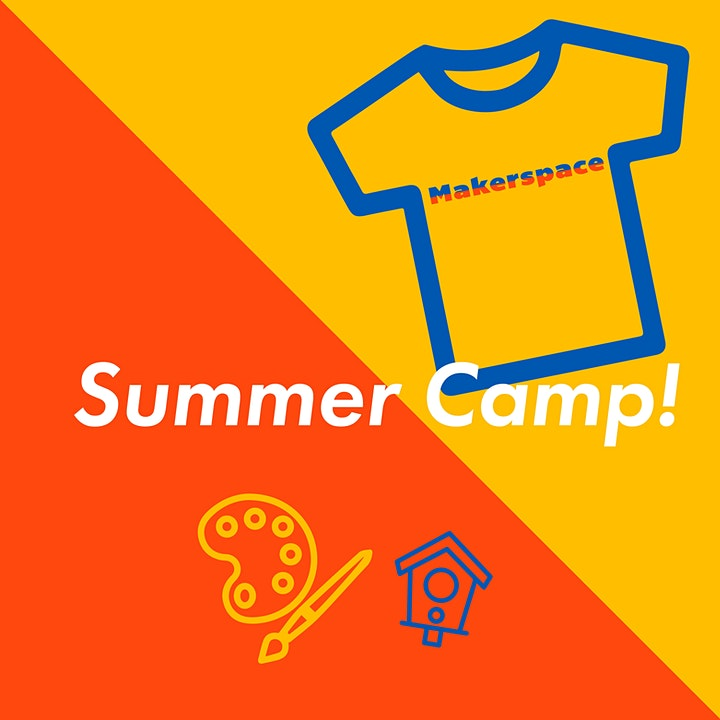 Makerspace Summer CAMP! Ages 9 - 12 image