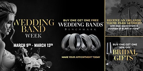 Wedding Band Weekend - Buy One, Get One Free (#BOGO) & Disney Vacation tickets
