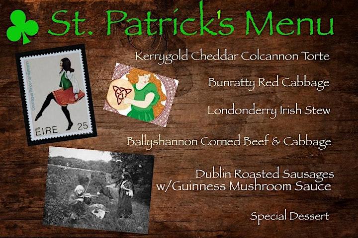 St. Patrick's Feast Luncheon & Céilí - 2021 image