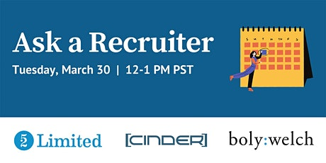 Ask a Recruiter! tickets