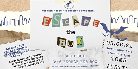 Escape the Box: A Scavenger Hunt Release Event! tickets