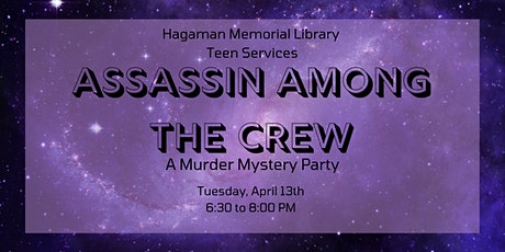 Assassin Among the Crew - Virtual Murder Mystery for Teens tickets