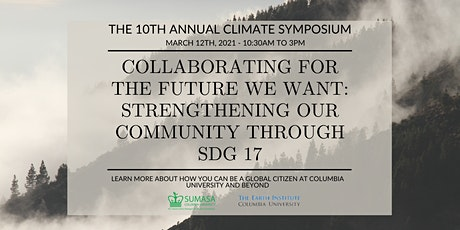 SUMASA/Earth Institute 10th Annual Climate Symposium tickets