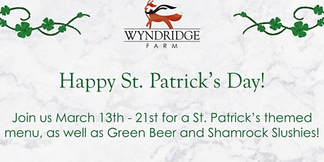 St. Patrick's Day at The Farm tickets