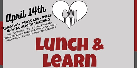 Tualatin Together's Lunch & Learn: QPR Training (Question, Persuade, Refer) tickets