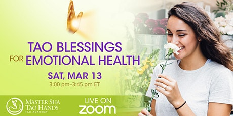 Tao Blessings for Emotional Health tickets