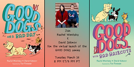 Virtual launch of the GOOD DOGS series by Rachel Wenitsky and David Sidorov tickets