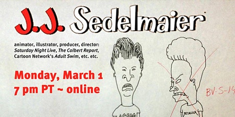 Design History of Comics and Animation presents JJ Sedelmaier tickets