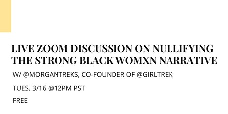 Live Course Discussion w/ @morgantreks of GirlTrek tickets