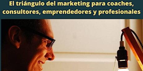 El triángulo del marketing para coaches, emprendedores y profesionales entradas