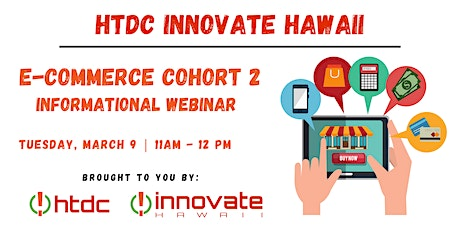 E-Commerce Cohort 2 Informational Webinar tickets
