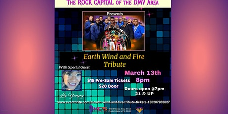 Earth Wind and Fire Tribute boletos