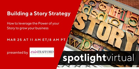 Building a Story Strategy tickets