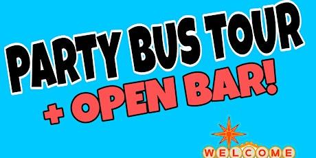 LAS VEGAS - PARTY BUS TOUR - OPEN BAR - NIGHT CLUB ON WHEELS ! tickets
