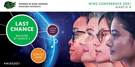 Women in Data Science (WiDS) Worldwide Conference tickets